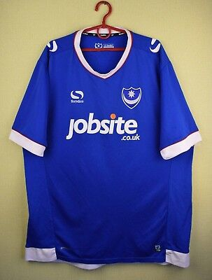 Portsmouth 2016/2017 Home official sondico jersey shirt soccer football size XL image