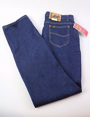 Lee Riders Misses Vintage Cotton Heavyweight Blue Denim Straight Leg Jeans 16L ()