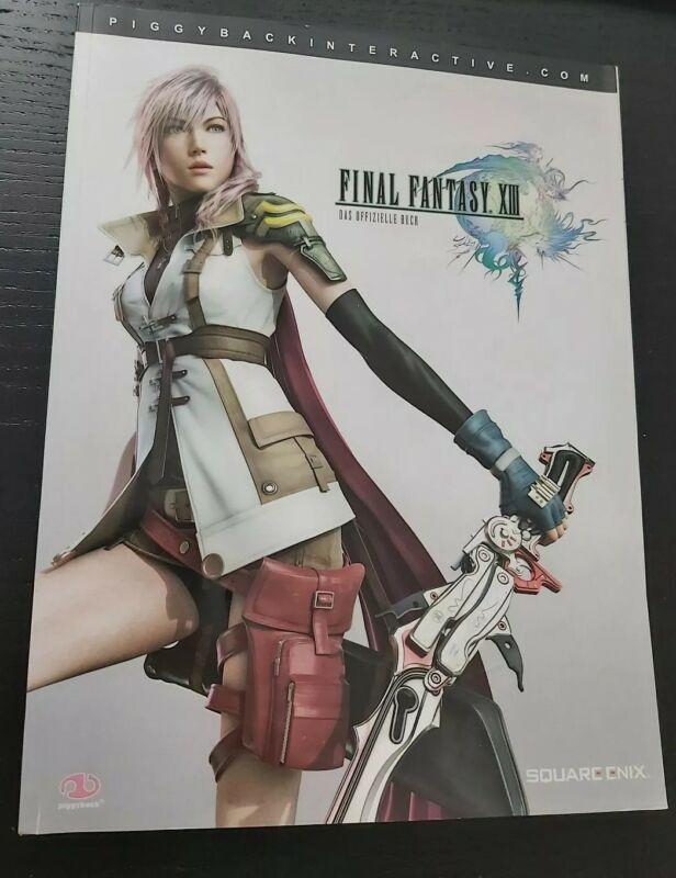 Final Fantasy 13 Das offizielle Buch Lösungsbuch Piggyback / Zustand sehr gut
