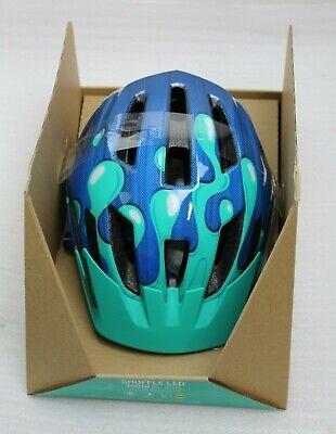 Specialized Shuffle LED Youth Fahrradhelm für Kinder 52-57cm Neon Blue blau NEU ()