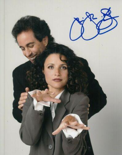 """JULIA LOUIS-DREYFUS signed (SEINFELD) 8X10 photo """"Elaine Benes"""" auto W/COA #4"""