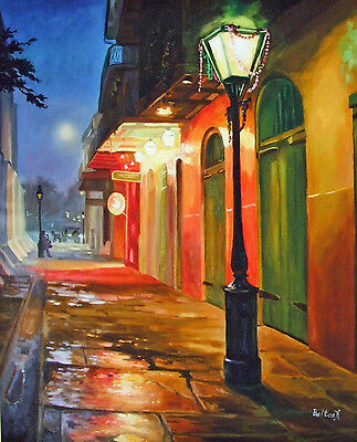 Pirates Alley New Orleans Baltas Matted Art Print French Quarter
