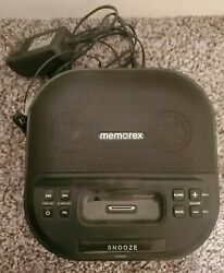 Memorex  Clock Radio For iPhones  Model: MI4390BLK