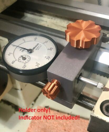 Jet BD920w lathe carriage dial indicator holder STOP!