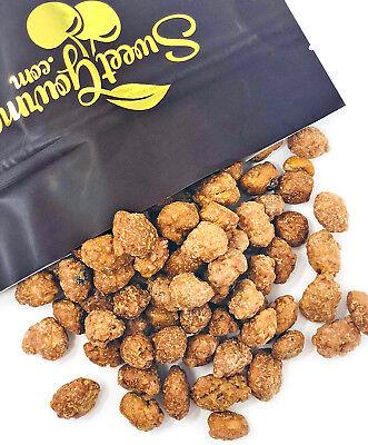 SweetGourmet Snacking Peanut Brittle - English Toffee flavor bite size - Peanut Toffee