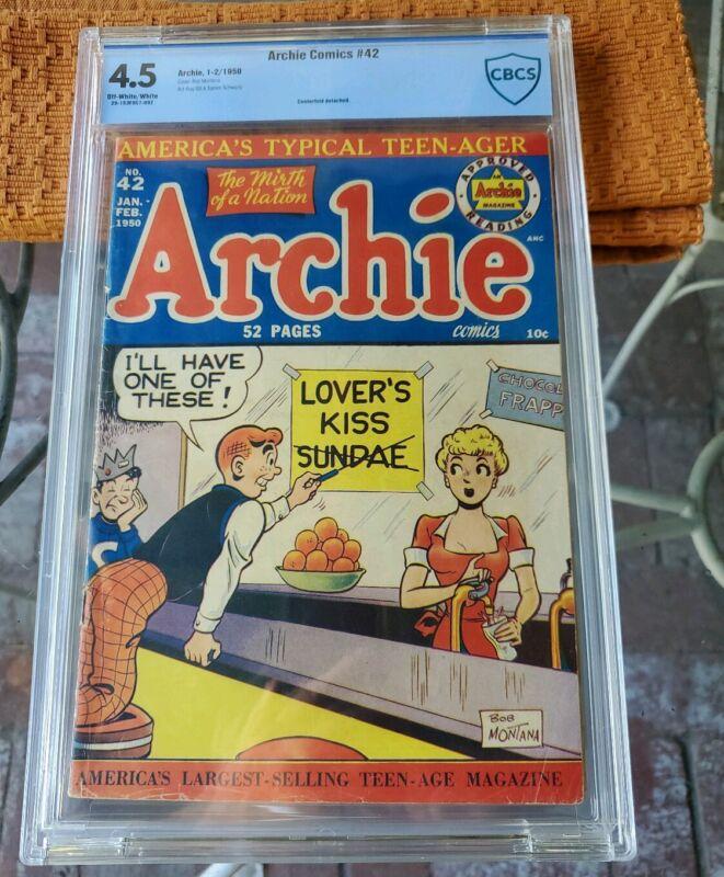 ARCHIE COMICS # 42 ( CBCS 4.5)