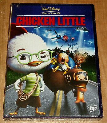 CHICKEN LITTLE DVD CLASICO DISNEY Nº 47 NUEVO ANIMACION (SIN ABRIR) R2