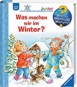 Wieso Weshalb Warum Junior  Was machen wir im Winter Ab 2 Jahre + BONUS