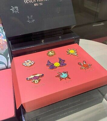 JAMES JEAN x BTS : Seven Phases Pin Set - Hybe Insight