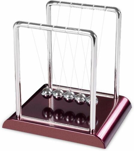 Newtons Cradle Office Desk Toy Kenetic Education Gravity Balance Balls