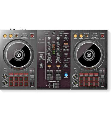 Pioneer  DDJ-400 2 Channel Rekordbox DJ Controller - Black NEW Open Box
