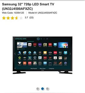 "New Samsung smart tv 32"" quick sale"