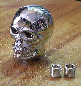 pommeau selecteur tete de mort bobber moto skull tuning auto idee cadeau chopper ebay. Black Bedroom Furniture Sets. Home Design Ideas