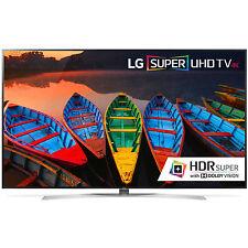 LG 65UH9500 65 in HDR 240Hz Smart TV 4K Slim 3D