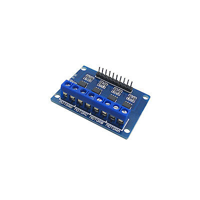 Hg7881 4-channel Dc Stepper Motor Driver Controller Board For Arduino New