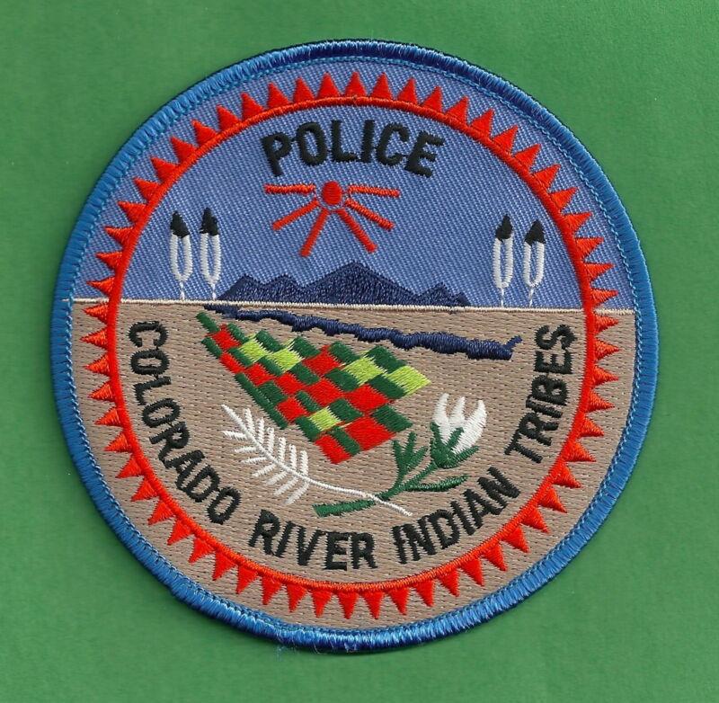 COLORADO RIVER ARIZONA TRIBAL POLICE SHOULDER PATCH