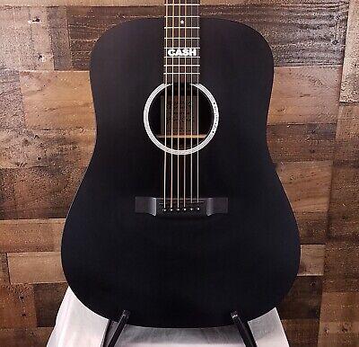 Martin DX Johnny Cash Acoustic Electric Black, Open Box, Free Ship