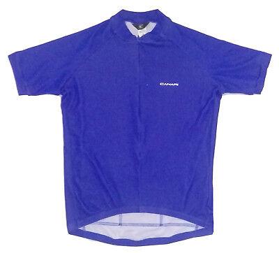 444a4e6ec Canari Pro Road Cycling Jersey Mens Small S SM Short Sleeve Blue New