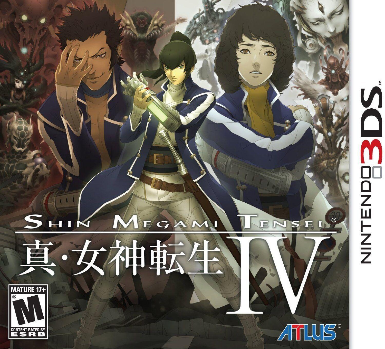 Atlus Software Shin Megami Tensei IV 4 [NINTENDO 3DS, Atlus Horror Demon RPG]