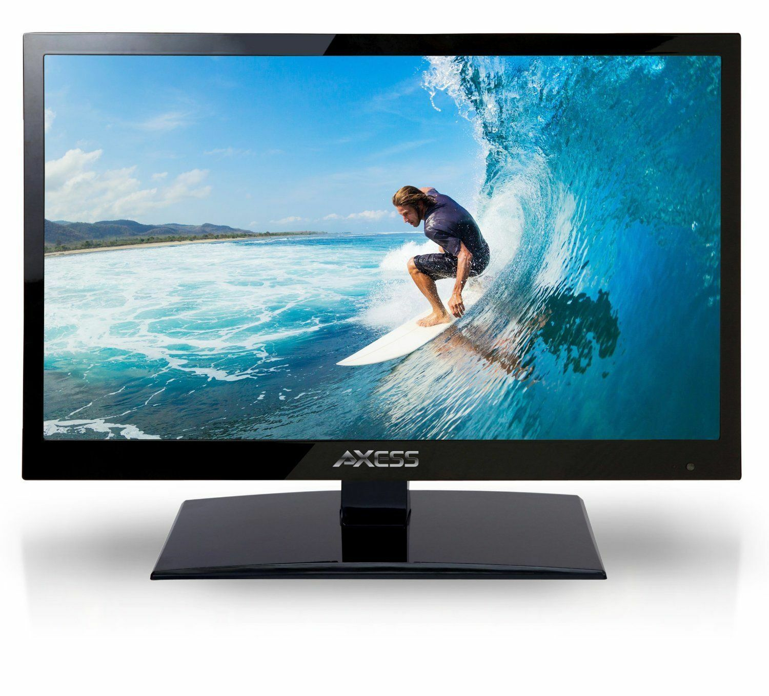 """AXESS TV1703-16 16"""" LED TV with Full HD Display, Includes HDMI/USB Inputs AC/DC"""