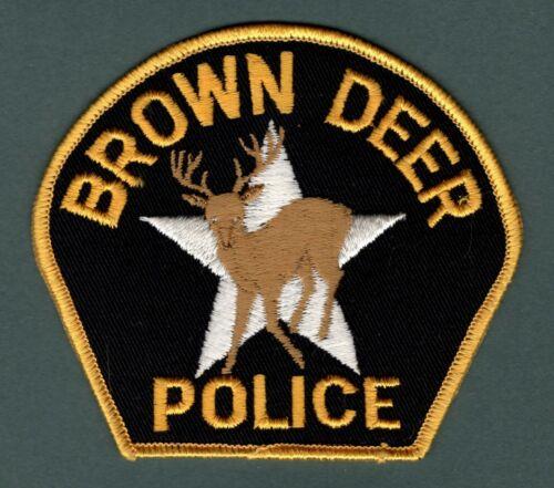 Brown Deer Wisconsin Police Patch