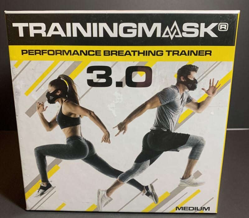 Training Mask 3.0 Performance Fitness Breathing Trainer ~Medium NEW / SEALED