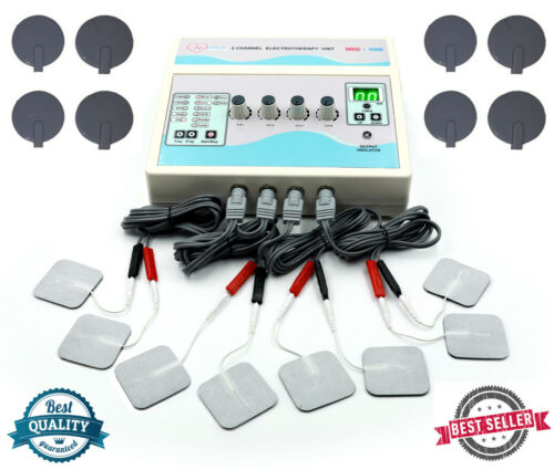 Home / Professional Electrotherapy 4 Channel Physio Pain Relief therapy Machine