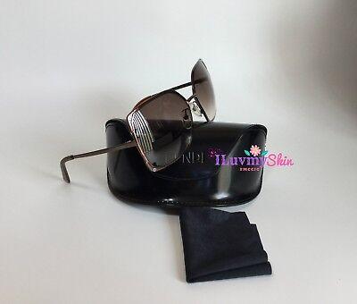 Authentic FENDI  Sunglasses FS5226 700 60-16-130  Bronze 100% UVA & UVB