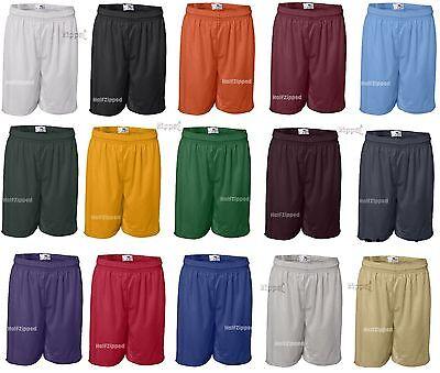 "Badger Youth 6"" Inseam Pro Mesh Gym Shorts 2207 XS-XL Girls"