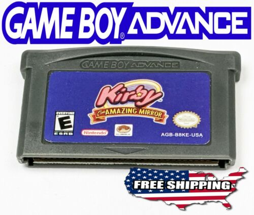 Kirby & the Amazing Mirror ~ Gameboy Advance GBA SP DS Lite **NEW +More