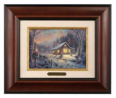 Thomas Kinkade Holiday Tradition Brushwork (Your Choice of Frame)