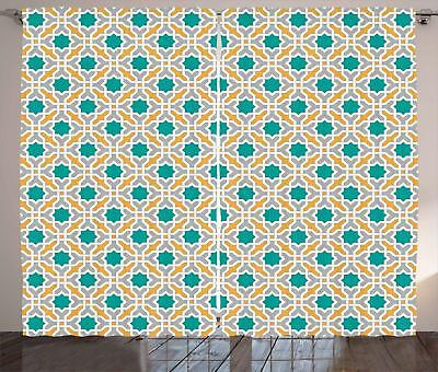 Teal Curtains 2 Panel Set for Decor 5 Sizes Available Window