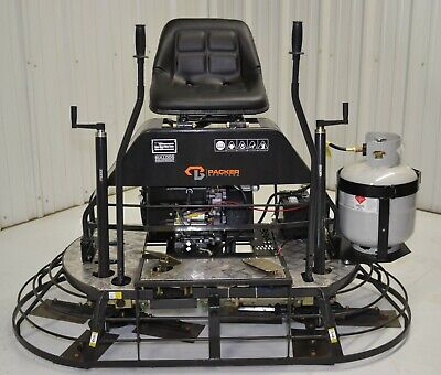 65 Twin 30 Ride On Concrete Trowel Grinder Honing Polishing Cement V Twin