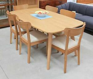 Oslo 7 Piece Dining Setting (Brand New) #3022 Beverley Charles Sturt Area Preview