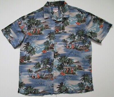 "Vintage Auth Morona Hawaiian Shirt 46""-117cm M (215H)"