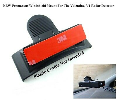 バレンタインワンV1Gen1&Gen1レーダー探知機用の2つの恒久的なフロントガラスマウント