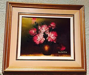 Original Signed Oil painting art -Limited  edition
