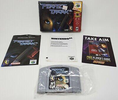 Perfect Dark N64 (Nintendo 64, 2000) Complete In Box CIB OEM Authentic! comprar usado  Enviando para Brazil