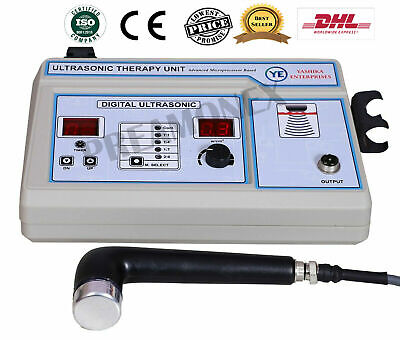 Therapeutic Ultrasound Therapy Suitable 1mhz Pain Recovery Machine