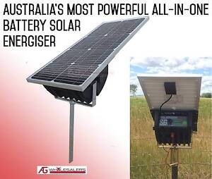 Solar Electric Fence Energiser 11km 2 Yr W'ty - can post Greenmount Toowoomba Surrounds Preview