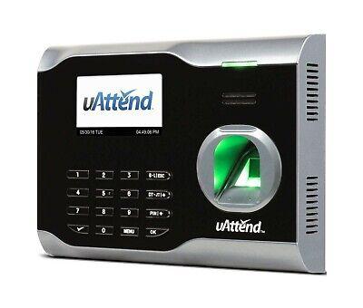 Uattend Platinum Series Bn6000 Lan Biometric Fingerprint Time Clock