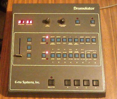 Vintage E-mu Drumulator drum machine