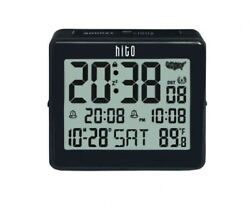 hito Atomic Travel Alarm Clock with Auto Back Light 6 Timezones, Date Day!!!!