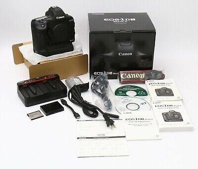 Canon EOS 1DX Mark II Digital SLR Camera USA model Low usage BEAUTIFUL EXTRAS