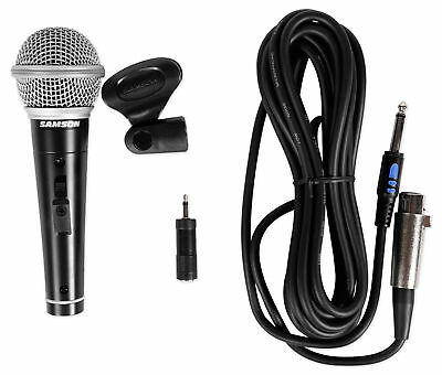 Samson M10 Handheld Dynamic Metal Microphone+Detachable XLR/1/4