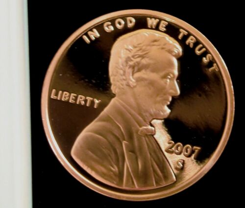 2007-S San Francisco Mint Lincoln Memorial Cent Proof