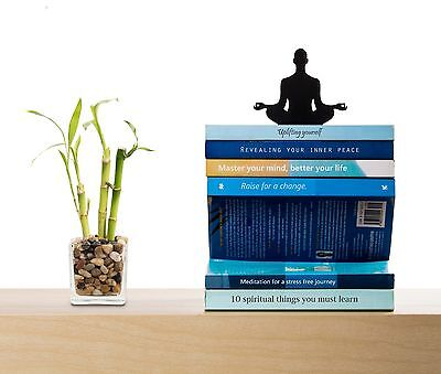 ARTORI Design Levitation Book Stacker Stand Holder Yoga Meditation Bookend Metal