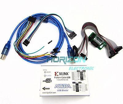 2 In 1 Xilinx Altera Fpga Cpld Usb Download Cable Jtag Platform Blaster