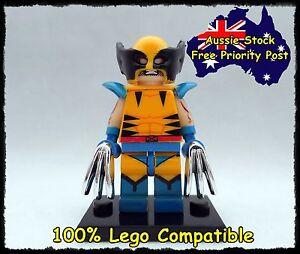 WOLVERINE minifigure Minifigures, lego compatible