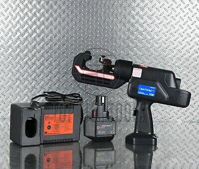 Thomas Betts Tbm6bscr Cordless 6 Ton Hydraulic Crimper Compression W-die